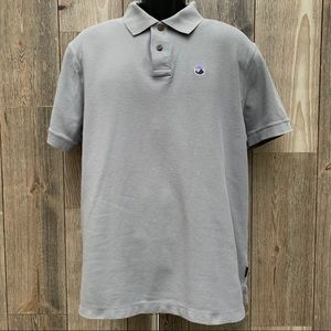 Patagonia Organic Cotton Woven Knit Golf Polo